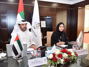 محمد بن سليم يشارك في اجتماع رؤساء اللجان الأولمبية الخليجية