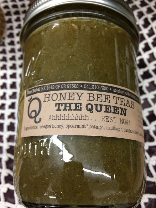Honey Bee Tea: Queen 8 oz.
