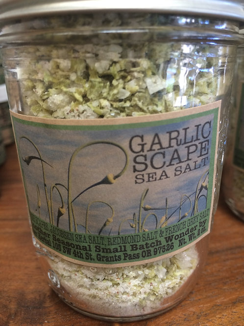 Garlic Scape Sea Salt