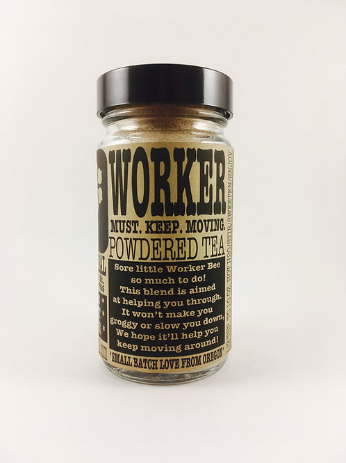 Worker Powdered Tea