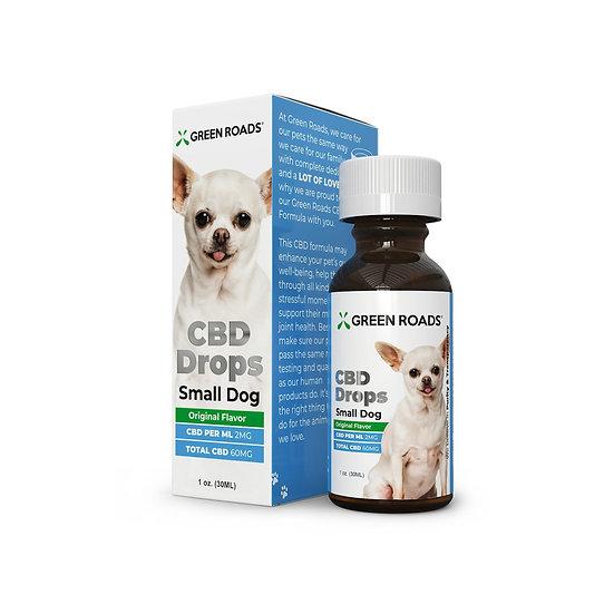 Green Roads Pet CBD Drops Small Dog (60mg)