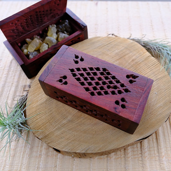花梨木散香盒  Rosewood Box
