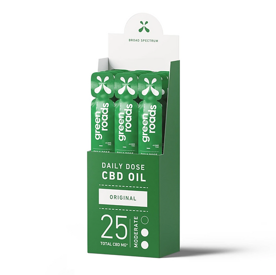 Green Roads CBD Daily Dose (25mg)(3Flavours)