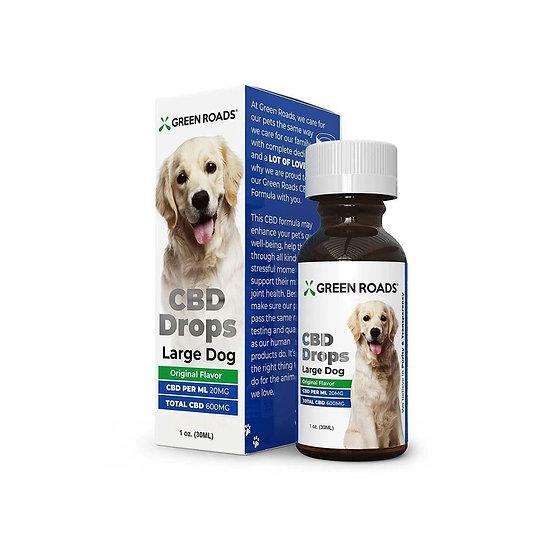 Green Roads Pet CBD Drops Large Dog (600mg)