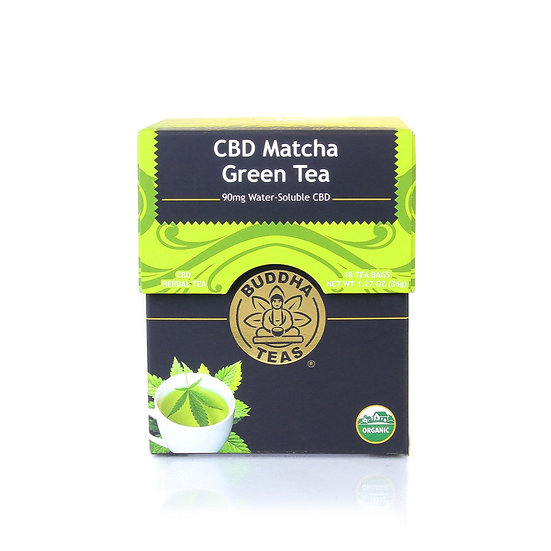 Buddha Teas CBD Matcha Green Tea (5mg)
