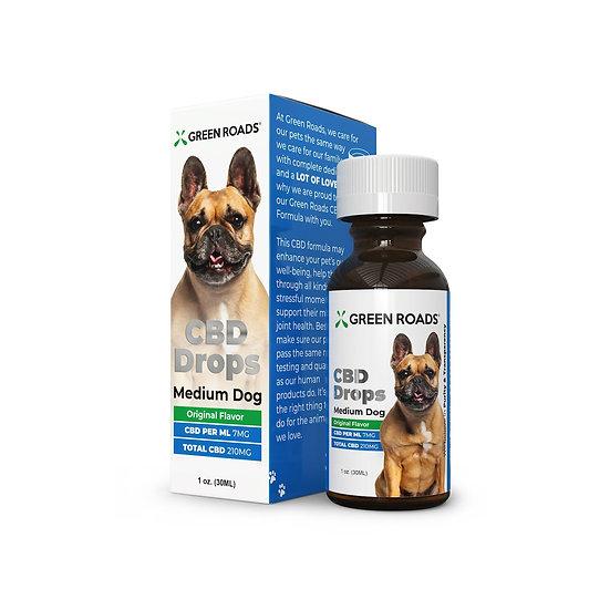 Green Roads Pet CBD Drops Medium Dog (210mg)