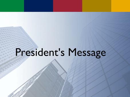 President's Message: Maurice Clark