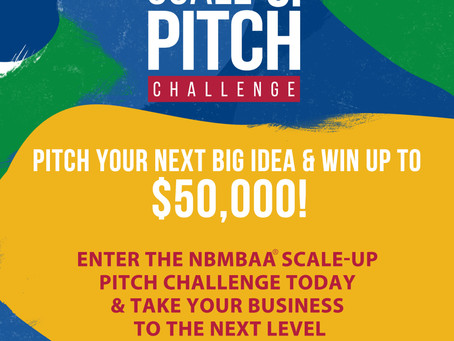 The 2019 Scale-Up Pitch Challenge is now accepting applications.