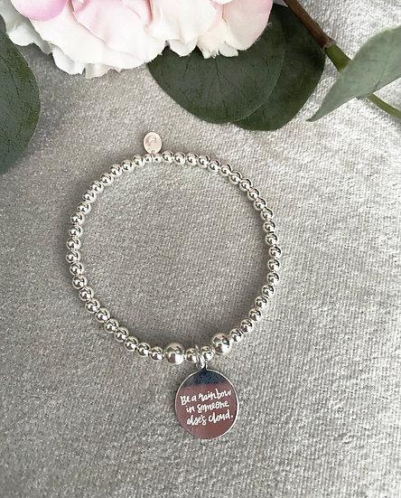 Sterling Silver Rainbow Bracelet