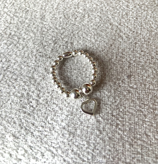 Small Open Heart Ring