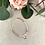 Thumbnail: Silver and Rose Gold Infinity Heart Bracelet