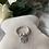 Thumbnail: Lotus Flower Sterling Silver Ring