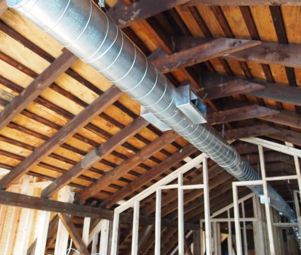 Interior Spiral Ducts