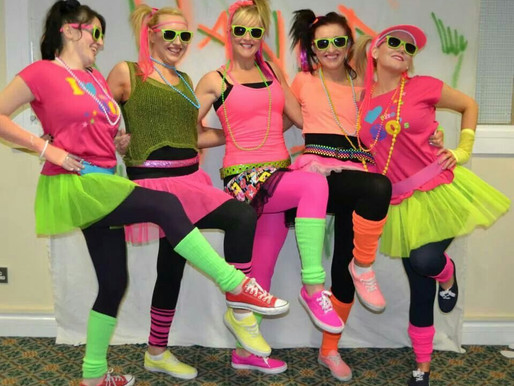 Dance parties rock top 5 hen party themes !!!!