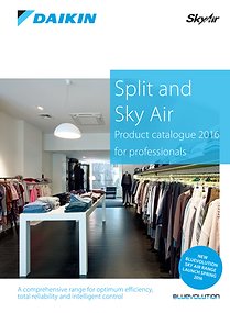Daikin Split and Sky Air Product Catalogue