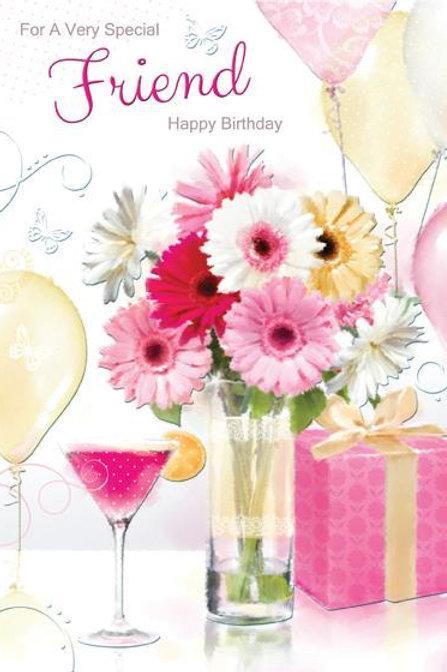 Friend Female Birthday Card