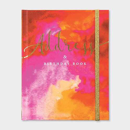 Rachel Ellen Address & Birthday Book