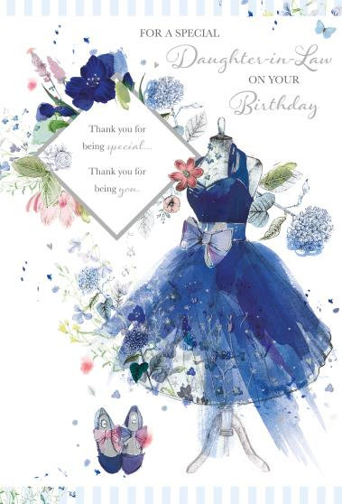 Daughter In Law Birthday Card