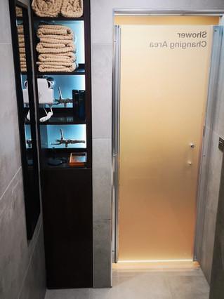 Shower Room Amenities
