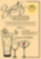 Spritz Bartenders flyer