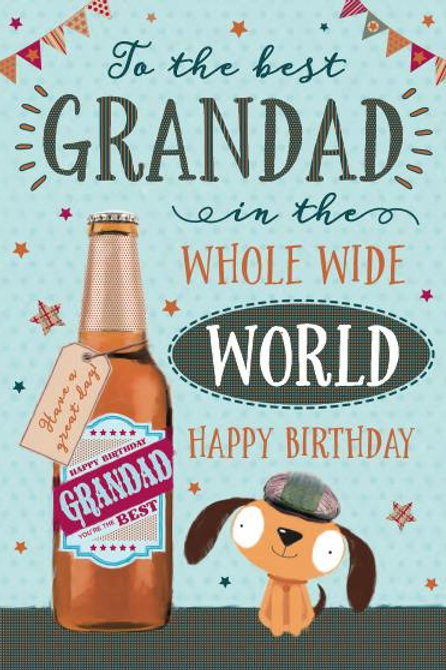 Grandad Birthday Card