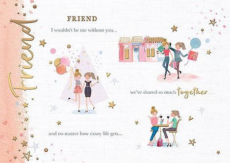 Friend - Female Birthday Card