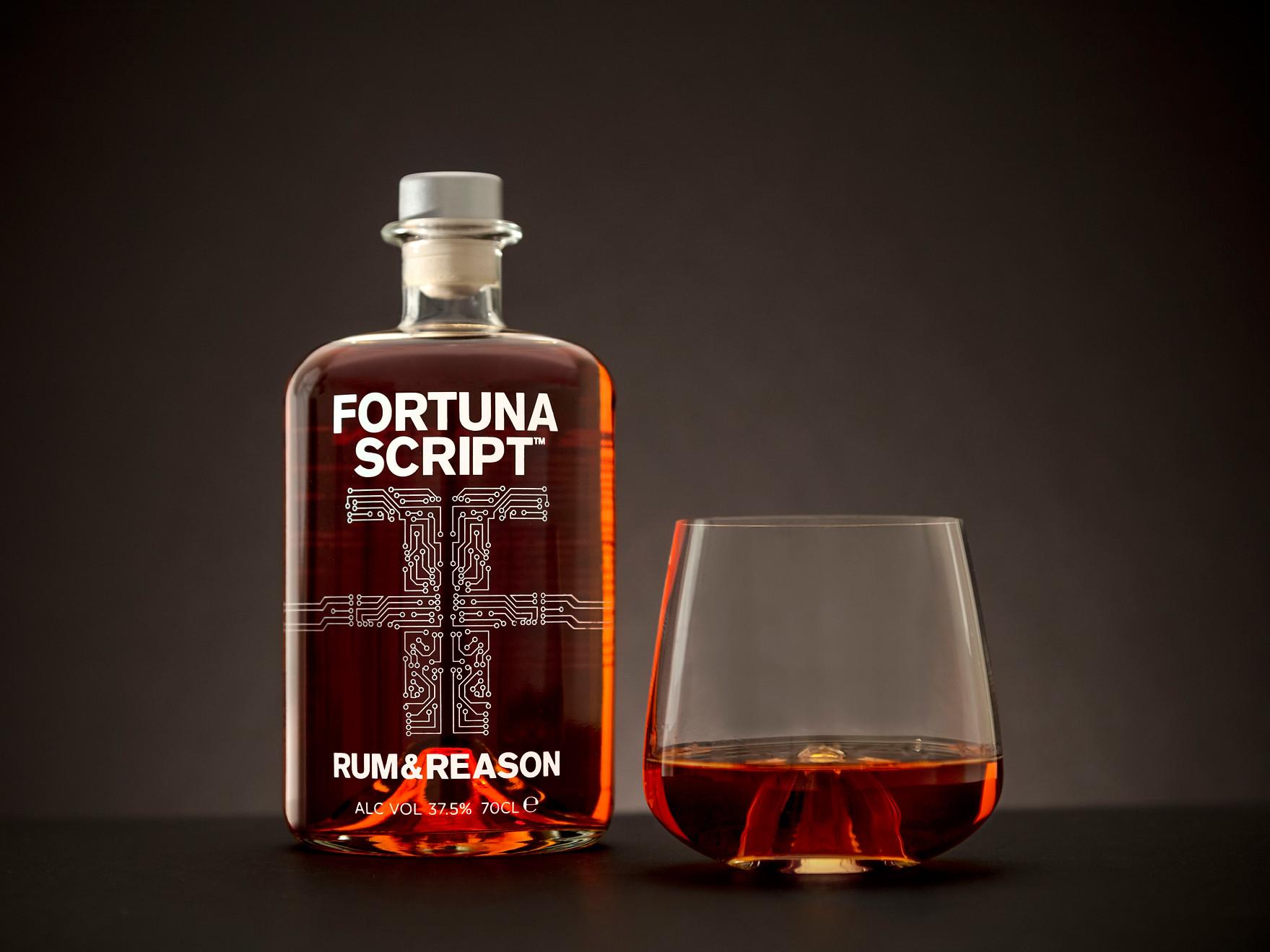 Fortuna Script and Glass