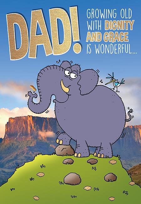 Dad Funny Birthday Card