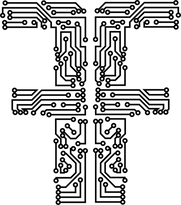Fortuna Script Logo Black