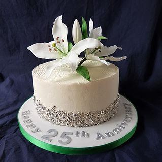 twenty fifth wedding anniversary butter