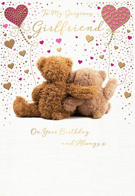 Girlfriend Birthday Card