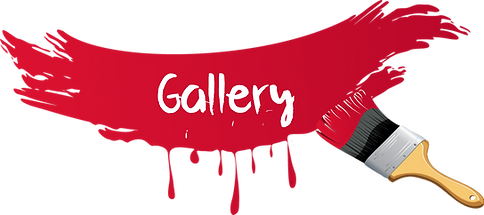 Gallery Red paint wording