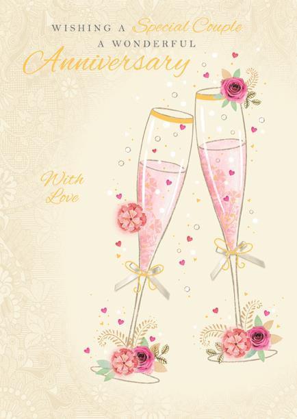 Couple Anniversary Card