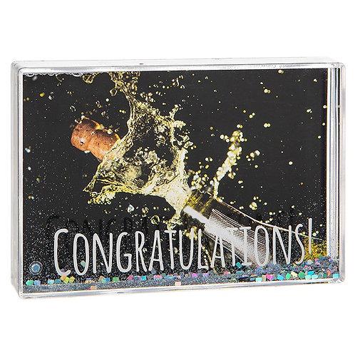 Glitzy Fun Frame Congratulations