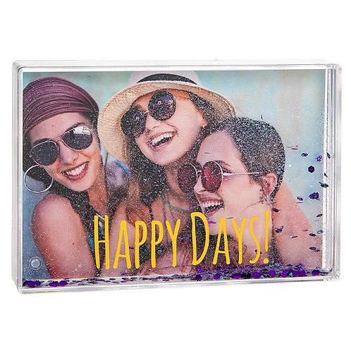 Glitzy Fun Frame Happy Days