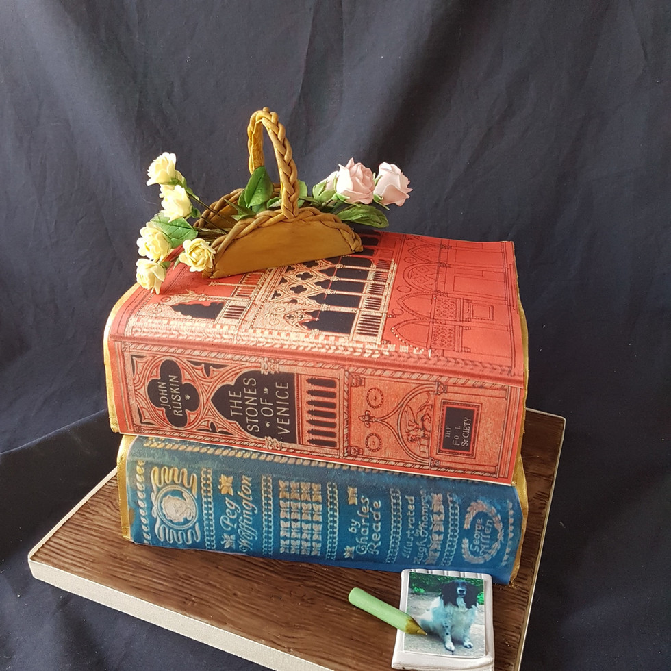 Lemon Cake - Books