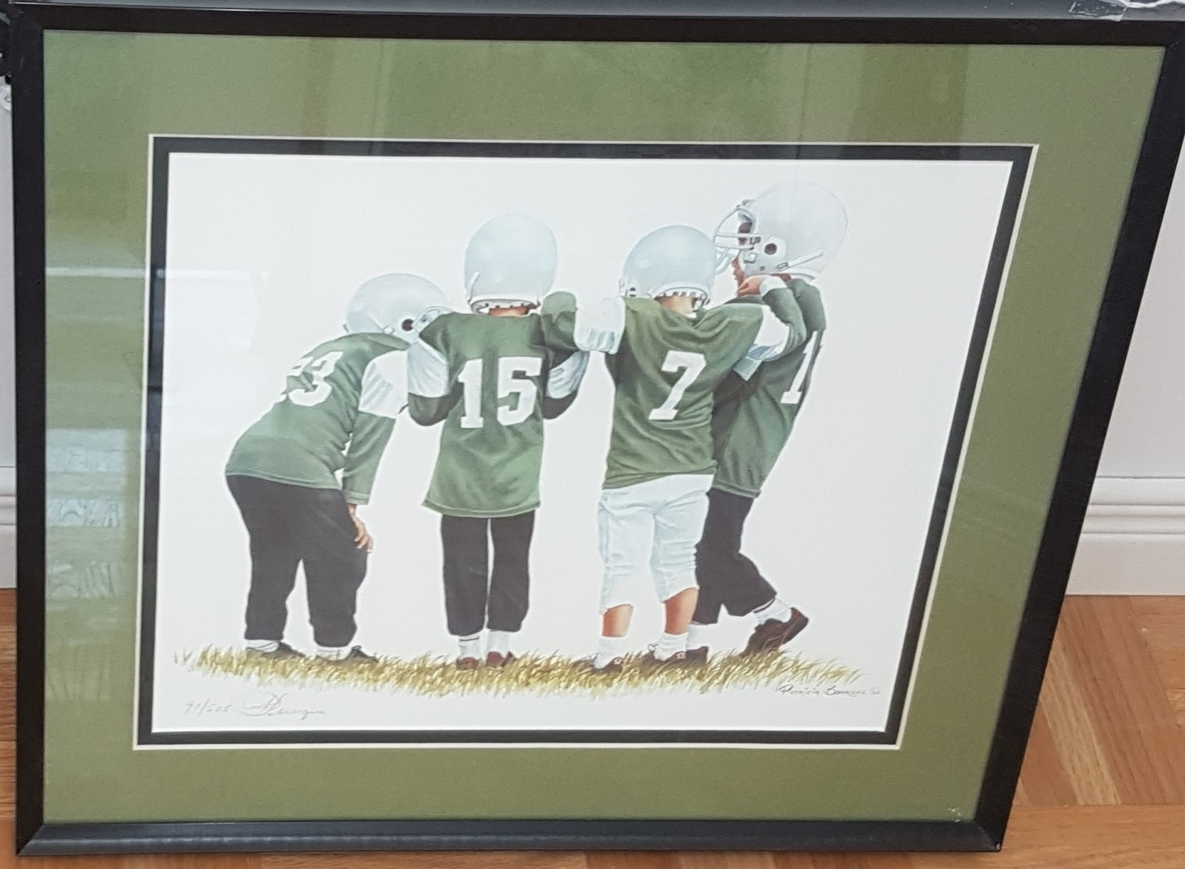 The Huddle by Patricia Bourque