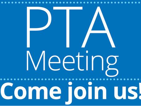 October PTA Meeting (10.19.2021)