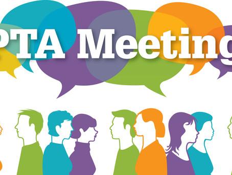 September PTA Meeting Minutes