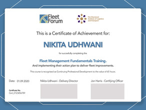 Fleet Management Fundamentals training is certified by CILT