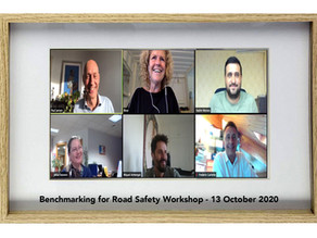 Delegates identify road safety benchmark ambition in virtual workshop.