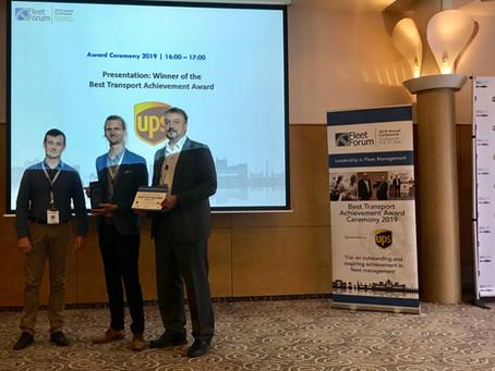 2019 Best Transport Achievement Award