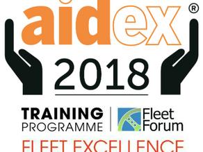 Fleet Forum Excellence Training at AidEx 2018