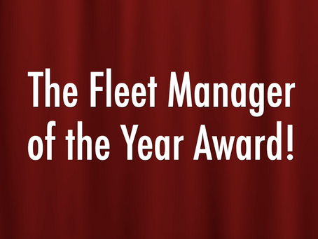 Fleet Manager of the Year Award