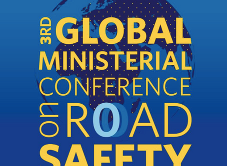 Sweden to host the 3rd Global Ministerial Conference on Road Safety.