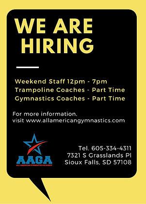 Yellow with Speech Bubble Job Vacancy An