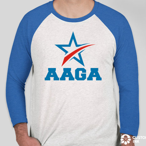 AAGA T shirt Baseball