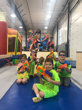 Fun Nerf Birthday Party at AAGA in Sioux Falls