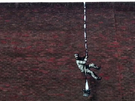 Banksy On Fire ... Just Not Literally
