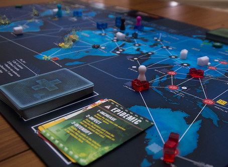 Pandemics aren't much fun, but you can have a lot of fun with Pandemic the board game